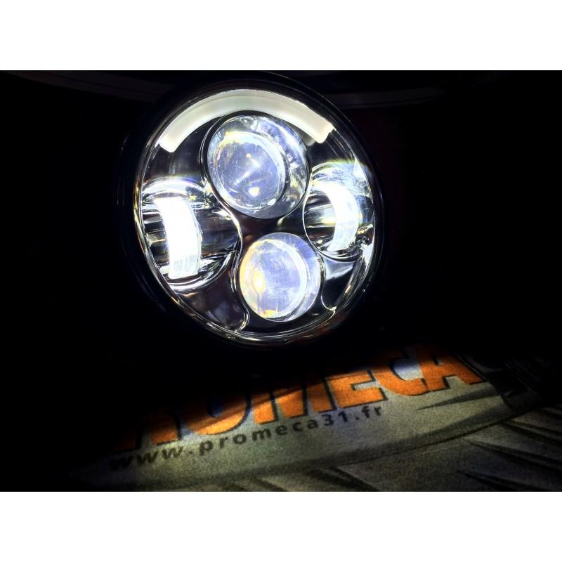hd led ring moto 5 3 4 eclairage combine cerclage lumineux promeca 31. Black Bedroom Furniture Sets. Home Design Ideas