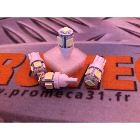 AMPOULE T10 5 LEDS