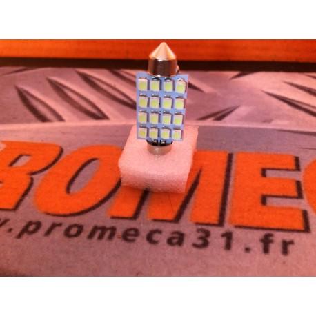 AMPOULE NAVETTE T10 16 LEDS