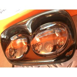 """HD LED DAY MOTO 5 3/4"""" ECLAIRAGE COMBINEE 5,75"""""""