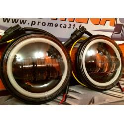 """HD DAY-MAKE 4.5"""" PASSING LAMP + FEUX DE JOUR LED"""