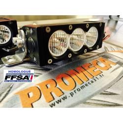 2 RAMPES LED WRC-PRO 30W VIRAGE