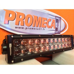 WRC-PRO 120W LED OSRAM COURBÉE FIX LATERALE